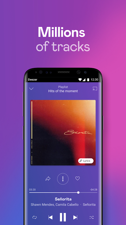 Deezer Music Player: Songs, Playlists & Podcasts v6.2.3.96