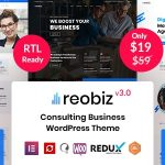 Reobiz - Consulting Business WordPress Theme v3.0