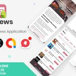 XSNews | Android News/Blog Multipurpose Application [XServer]
