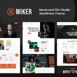 Miker - Movie and Film Studio WordPress Theme v1.0.0