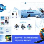 Skiz - Sports, Ski Boards Shopify Theme v1.1