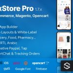 Fluxstore Pro - Flutter E-commerce Full App for Magento, Opencart, and Woocommerce 1.8.1