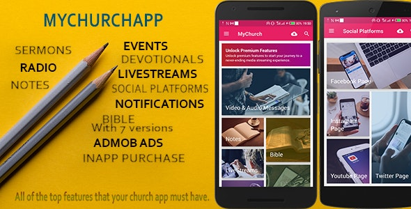 My Church App - connect your church to a mobile world. 22/04/2020