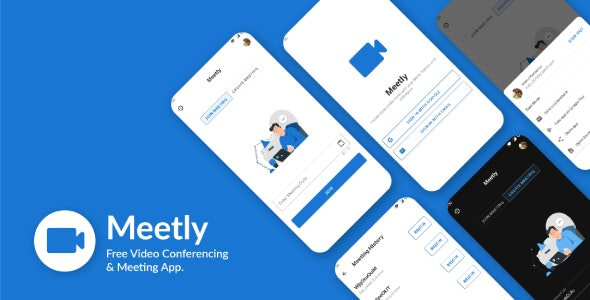 Meetly - Free Video Conferencing & Meeting App *EXCLUSIVE* ALL Nuled site Follow my post V1.13