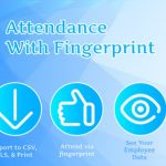 Attendance with Fingerprint (Android + System Management) Nov 11, 2020