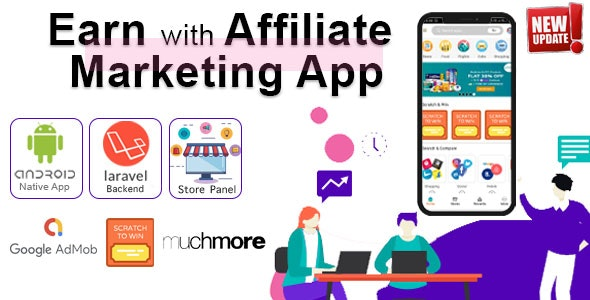 Affiliate Marketing app with PHP Backend | Earn with All in one app 15 January 20