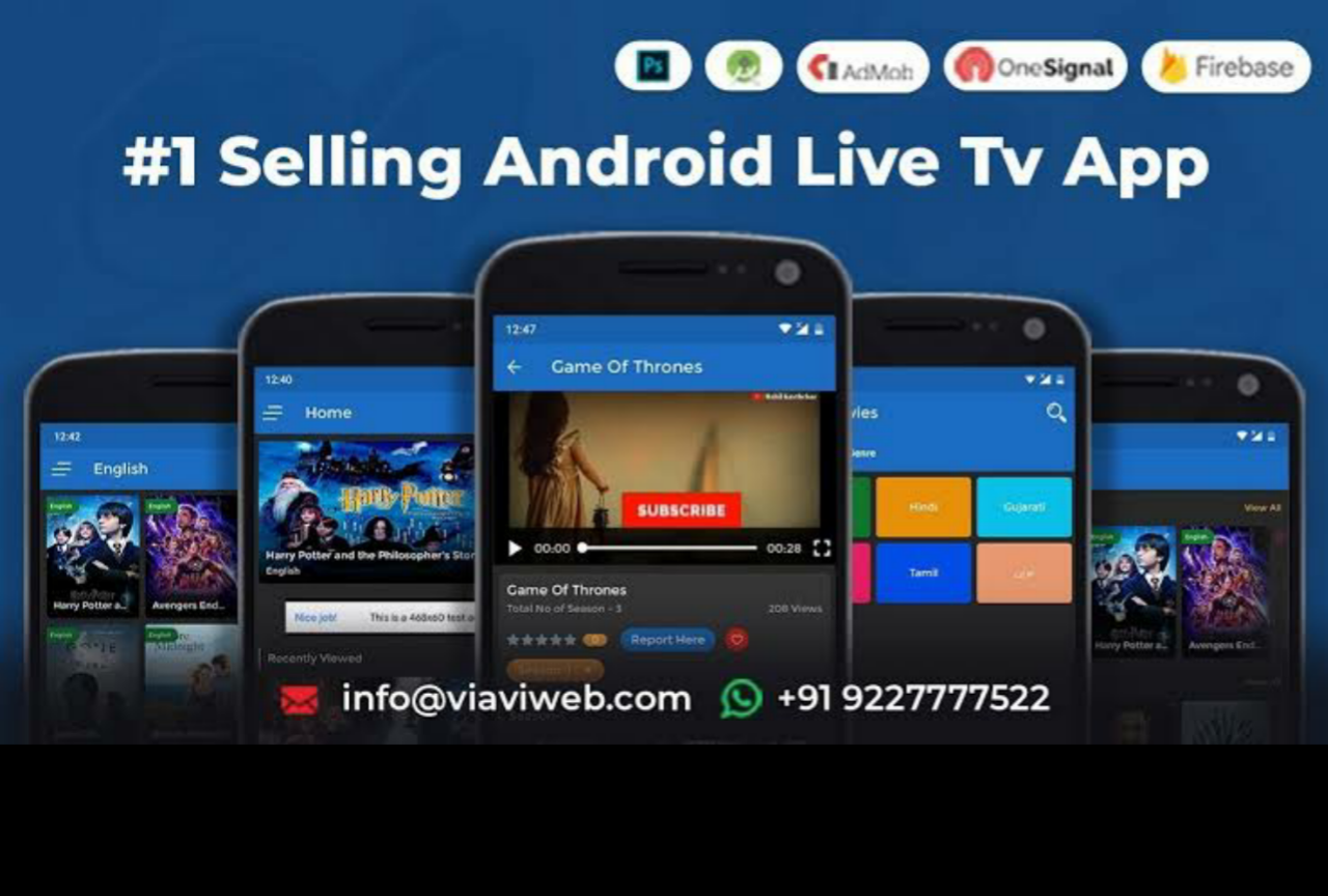 Android Live TV (TV Streaming, Movies, Web Series, TV Shows & Originals) 01 August 2019 Untouched