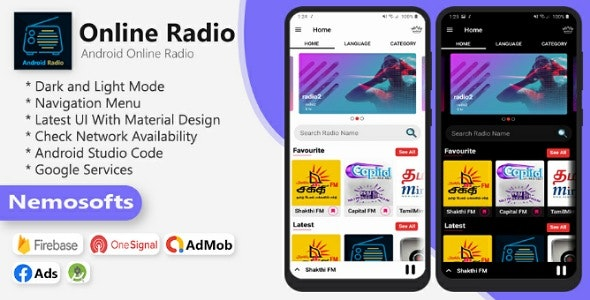 Android Online Radio 3 September 20