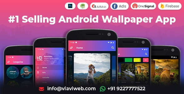 Android Wallpapers App (License requirement removed) 2.2