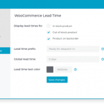 Barn2 Media WooCommerce Lead Time v1.5.1