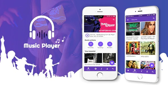 Codecanyon: Flutter Music Player Android 1.0