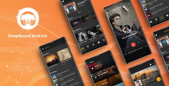 DeepSound Android - Mobile Sound & Music Sharing Platform Mobile Android Application v1.5