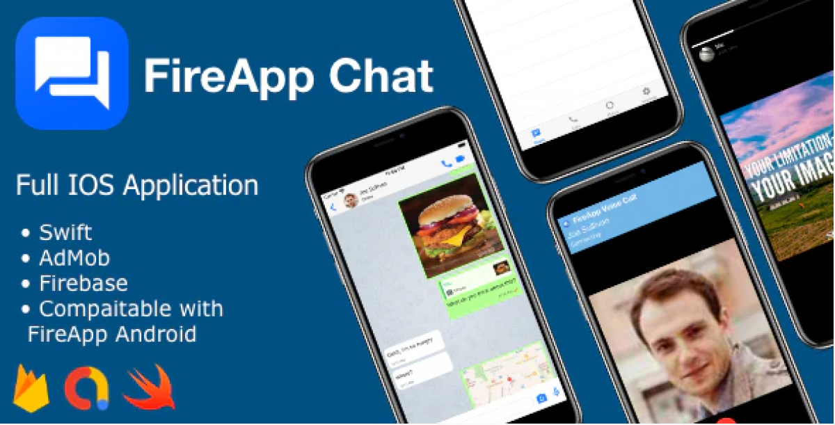 FireApp Chat IOS - Chatting App for IOS - Inspired by WhatsApp v1.0