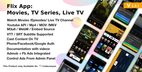 Flix App Movies - Online Movies / TV shows on Android v2.2
