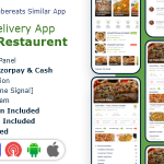 Food, Grocery, Meat Delivery Mobile App with Admin Panel 2.0