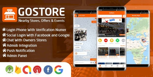 GoStore - Nearby Stores, Offers & Events With Admin Panel 2020-05-02