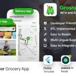 Grocery Flutter App Template | 3 Apps | User App + Seller App + Delivery App | GroShop v-1.0.0