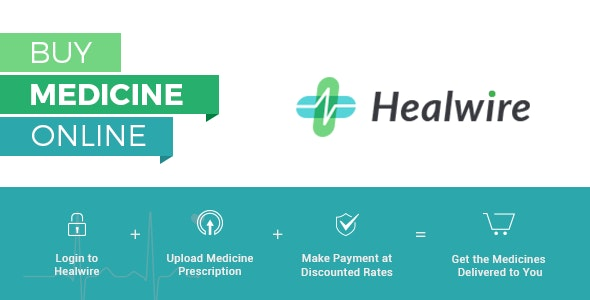 Healwire - Online Pharmacy Store App Android v1.1.2