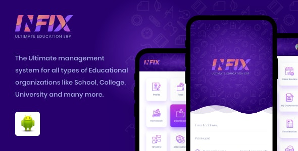 Infix School android app - Management school from your android system v1.4.4