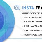 Instasocial- application for social networks with creative filters v1.0