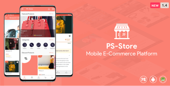 PS Store ( Mobile eCommerce App for Every Business Owner ) V-2.7