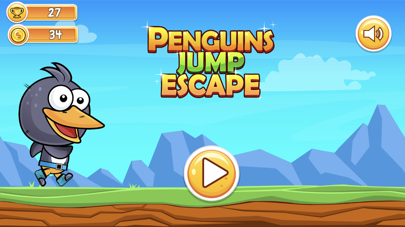 Penguin Jump Escape + Unity Project + IOS and Android 2020-03-12