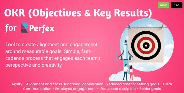 OKRs - Objectives and Key Results for Perfex CRM v1.0.2