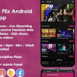 Prime Video Flix App: Movies-TvShows-Live Streaming-TV-Web Series-Premium Subscription Plan v8.1