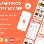 Single restaurant iOS food ordering app with Delivery Boy and Admin Panel v2.0