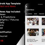 Sport News - Football Android App Template (Admob/Push) 3 April 19