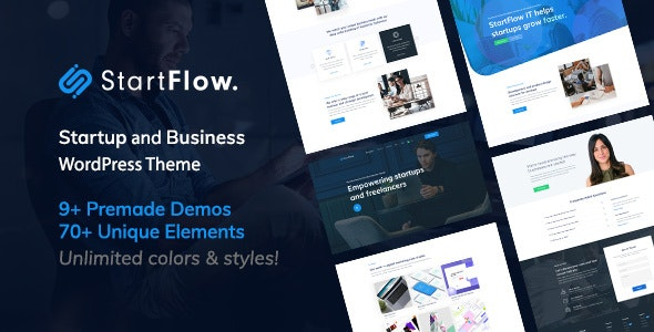 StartFlow | Responsive Multipurpose WordPress Theme v1.10