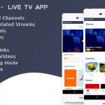 Streaming4u - Live Tv and Streaming app with Admin panel 1.1