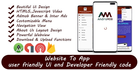 Super Universal Webview Android App With Admob 03 April 2020