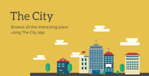 The City - Place App with Backend 7.0 16 April 20