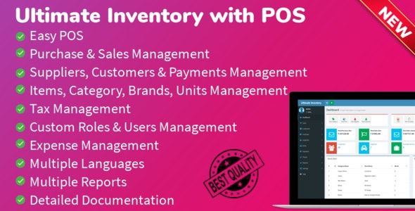 Ultimate Inventory with POS v1.7.5 Untouched