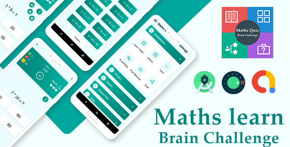 Ultimate Maths Quiz : Brain Challenge with admob ready to publish v-1.0