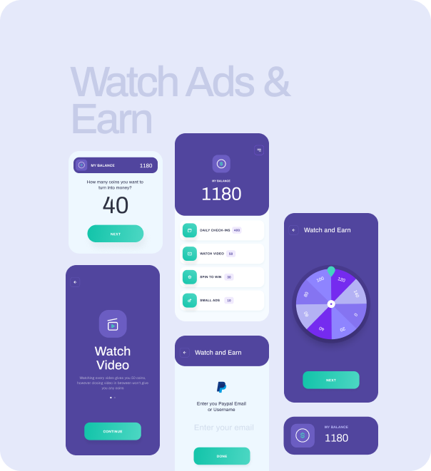 Watch And Earn v1.2 - Android App Source Code 1.2