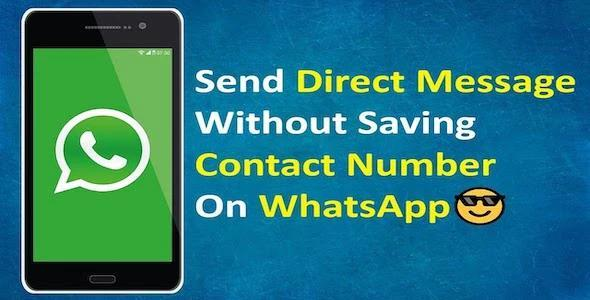 WhatsApp Direct Message - Send Message Without Saving Contact Android Code (WhatsApp + WABusiness) 11 November 19