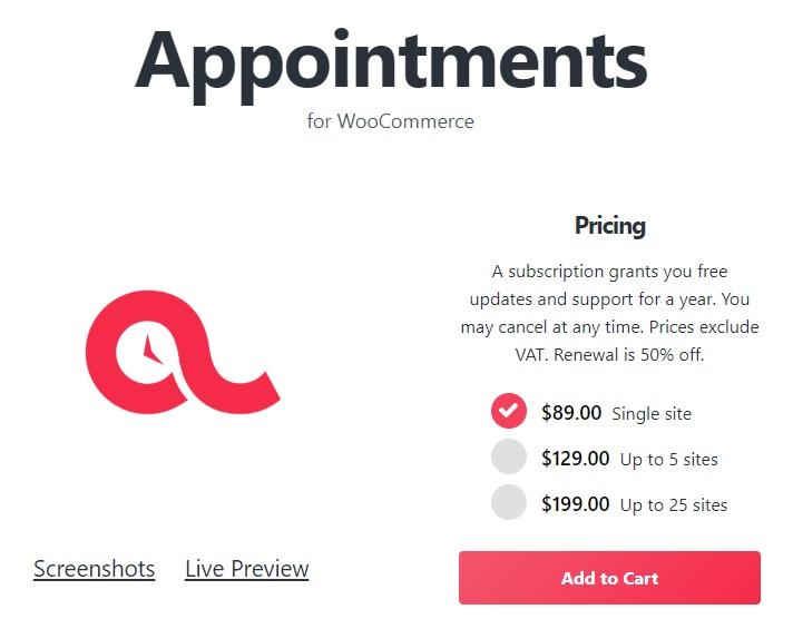 BookingWP WooCommerce Appointments v4.10.9