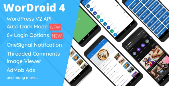 WorDroid - Android Application for WordPress v4.4