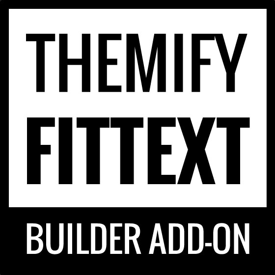 Themify Builder FitText v2.0.1