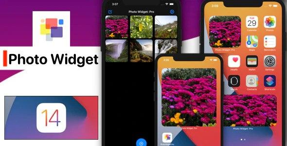 iOS 14 Photo Widget App (New iOS 14 Widget, SwiftUI) v-1.2