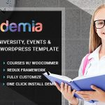 Academia - Education Center WordPress Theme v3.3