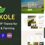 Agrikole | Responsive WordPress Theme for Agriculture & Farming v1.6
