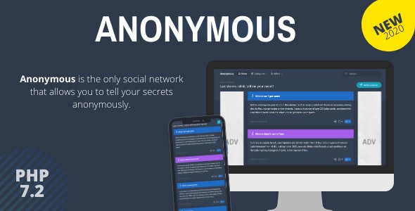 Anonymous - Secret Confessions Social Network 25/09/2020