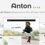 Anton - Multi Store Responsive WordPress Theme v1.1.0