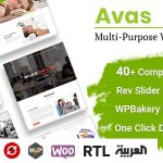 Avas | Multi-Purpose WordPress Theme v6.1.24 Nulled