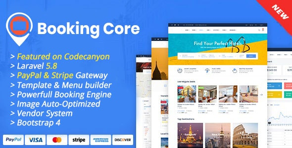 Booking Core - Ultimate Booking System v1.8.2