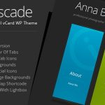 Cascade - Personal vCard WordPress Theme v8.1