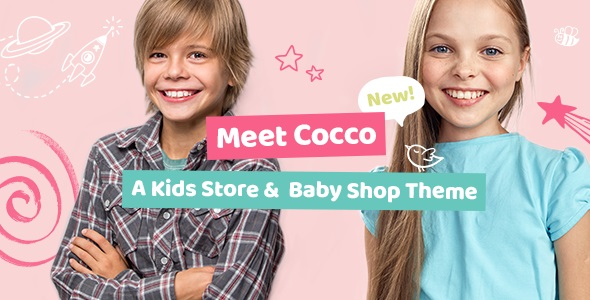 Cocco - Kids Store and Baby Shop Theme v1.7 Nulled